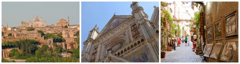 Rome to Florence Sightseeing Transfer with visit to Orvieto
