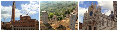 Rome to Florence Sightseeing Transfer with visit to Siena and San Gimignano
